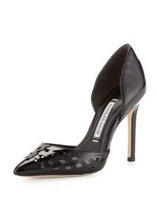 Charles David Contessa Laser-Cut d'Orsay Pump