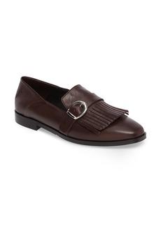 Charles David Dame Fringed Loafer Flat (Women)