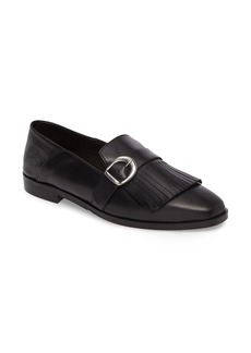 Charles David Dame Fringed Loafer Flat (Women)