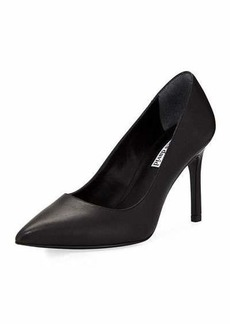 Charles David Denise Smooth Leather Pointy Toe Pump
