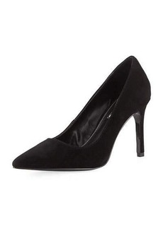 Charles David Denise Suede Pointy Toe Pump