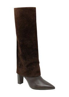 Charles David Devil Pointed Toe Knee High Boot (Women) (Narrow Calf)
