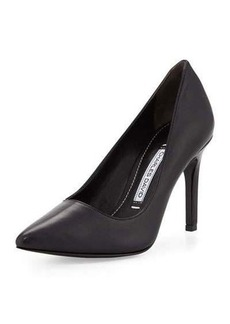 Charles David Donnie Leather Point-Toe Pump