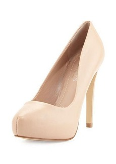 Charles David Frankie Leather Platform Pump