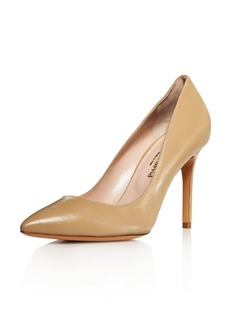Charles David Genesis Leather Pointed Toe High-Heel Pumps