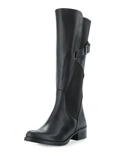 Charles David Hilda Leather Gored Mid-Calf Boot