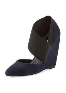 Charles David Ilya Suede Wedge Pump
