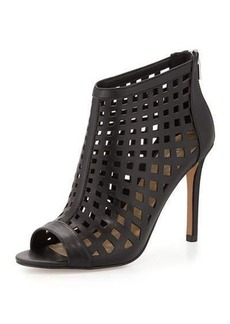 Charles David Infusion Caged Leather Bootie