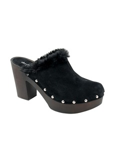 Charles David Limited Faux Fur Clog (Women)