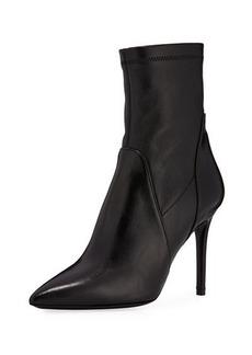 Charles David Linden Leather Stiletto Bootie