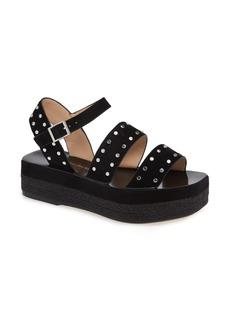 Charles David Madiera Studded Platform Sandal (Women)