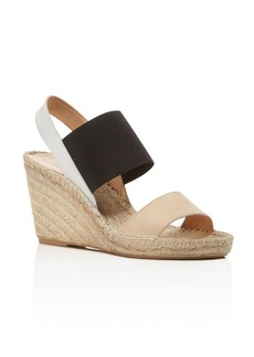 Charles David Odessa Color Block Espadrille Wedge Sandals