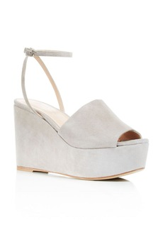 Charles David Patricia Platform Wedge Ankle Strap Sandals