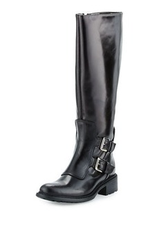Charles David Perina Mid-Calf Leather Boot