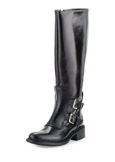 Charles David Perina Mid-Calf Leather Boot