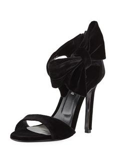 Charles David Precious Velvet Dressy Sandal