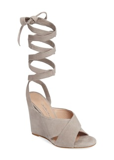 Charles David Quest Wraparound Lace Sandal (Women)