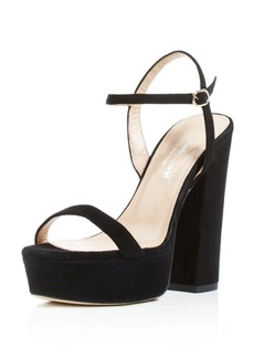 Charles David Retro Platform High-Heel Sandals