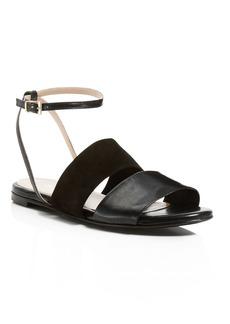 Charles David Sally Flat Ankle Strap Sandals