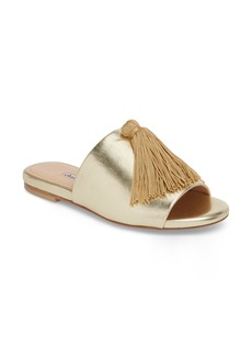 Charles David Sashay Tasseled Slide Sandal (Women)