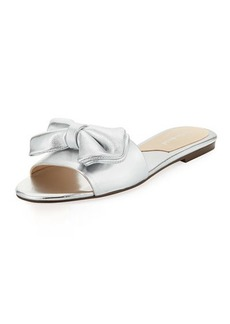 Charles David Slipper Metallic Bow Sandal
