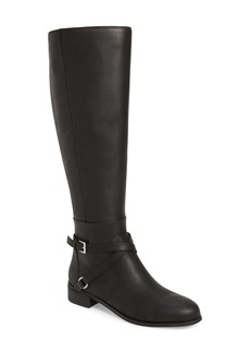 Charles David Solo Knee High Boot (Women) (Wide Calf)