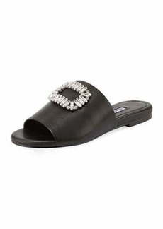 Charles David Sorbet Embellished Slide Sandal