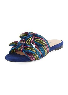 Charles David Souffle Bow Slide Sandal