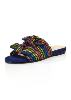 Charles David Souffle Printed Slide Sandals