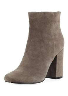 Charles David Studio Suede Side Zip Bootie