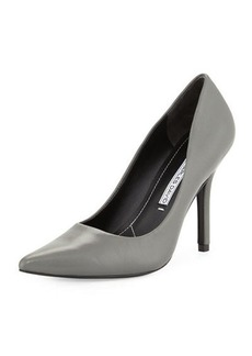 Charles David Sway II Leather Pointed-Toe Pump