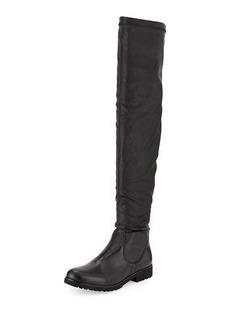 Charles David Valeria Low-Heel Leather Boot