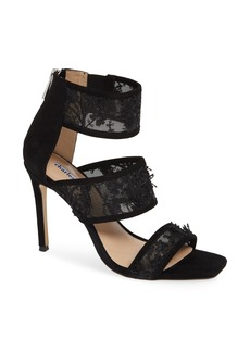 Charles David Vania Lace & Sequin Sandal (Women)