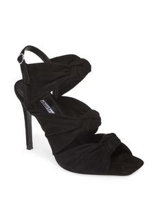Charles David Vinnie Knotted Slingback Stiletto Sandal (Women)