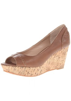 Charles David Women's Estate Peep-Toe Cork Platform