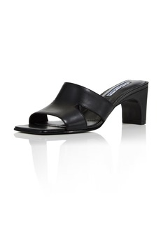 Charles David Women's Harley Leather Cutout Slide Sandals