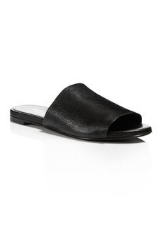 Charles David Women's Leather Slide Sandals