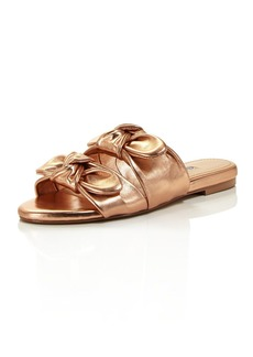 CHARLES DAVID Women's Souffle Flat Sandal   M US