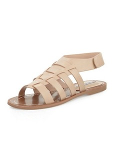 Charles David Zia Leather Open-Toe Sandal