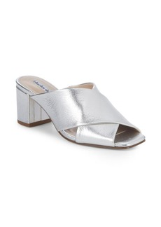 Crissaly Metallic Leather Sandals