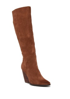Charles David Nelson Leather To-The-Knee Boot