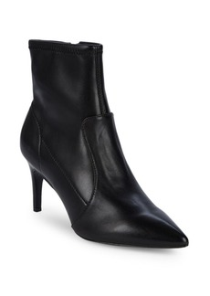 Charles David Pride Point Toe Leather Booties