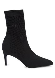 Charles David Prue Marble Knit Sock Booties