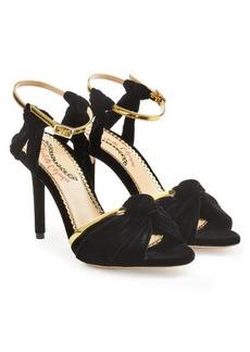 Charlotte Olympia Broadway Velvet Sandals