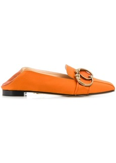 Charlotte Olympia buckle detail loafers