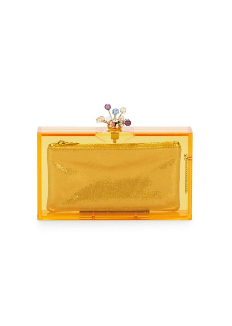 Charlotte Olympia Abstract Pandora Clutch & Pouch Set