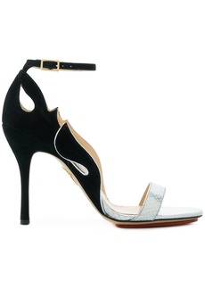 Charlotte Olympia ankle-strap sandals - Metallic