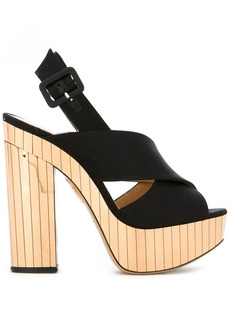 Charlotte Olympia 'Electra' sandals - Black