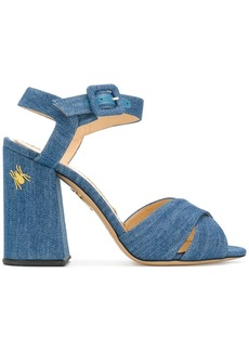 Charlotte Olympia Emma sandals - Blue