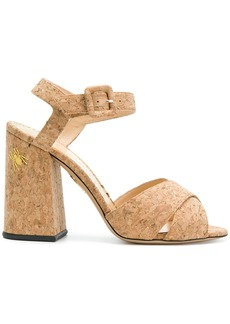 Charlotte Olympia Emma sandals - Nude & Neutrals